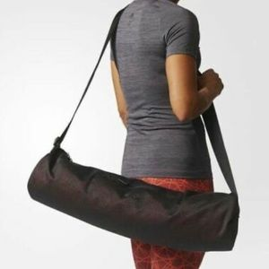 NWT ADIDAS yoga mat bag wanderlust black CD8515